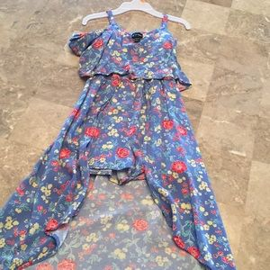 Other - Girl romper high low